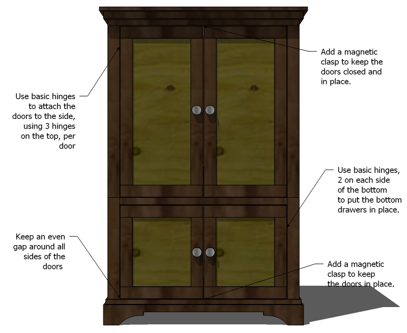 wardrobe closet wardrobe closet woodworking plans. Black Bedroom Furniture Sets. Home Design Ideas
