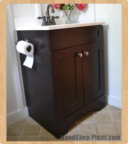 Bathroom woodshop plans - Bathroom vanity plans woodworking ...