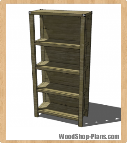 bookcase woodworking plans - WoodShop Plans