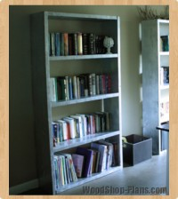 bookcase woodworking plans