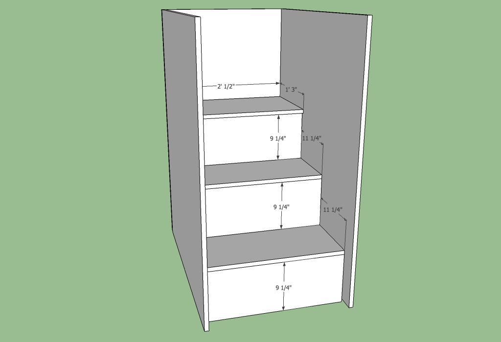 Permalink to build a loft bed with stairs