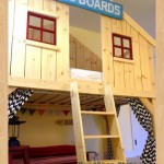 clubhouse bed woodworking plans