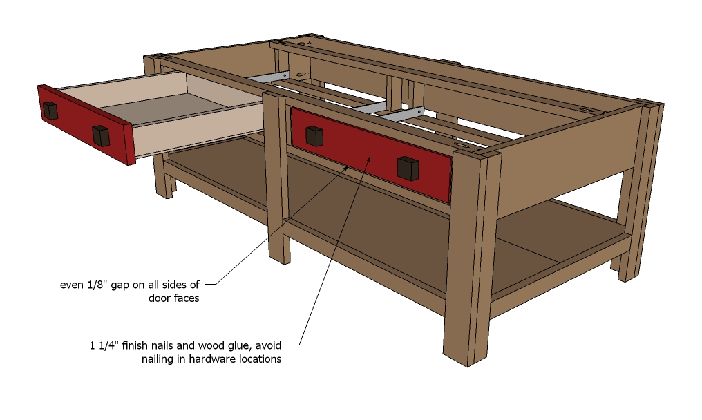 Free Coffee Table Woodworking Plans