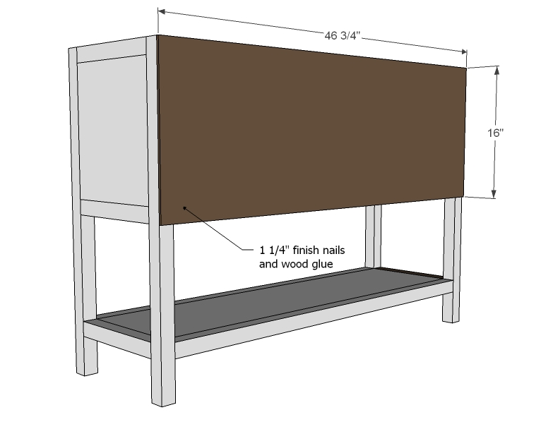 Model Apothecary Console Table Woodworking Plans  WoodShop Plans