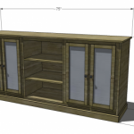 console woodworking plans 2
