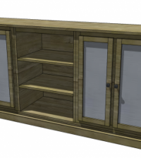 console woodworking plans