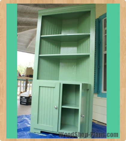 corner cupboard woodworking plans