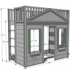 cottage loft bed woodworking plans 2