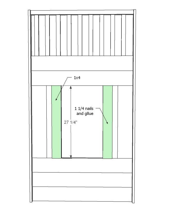 cottage loft bed woodworking plans step 09