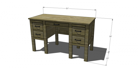 Awesome Desk Woodworking Plans 2 Idea