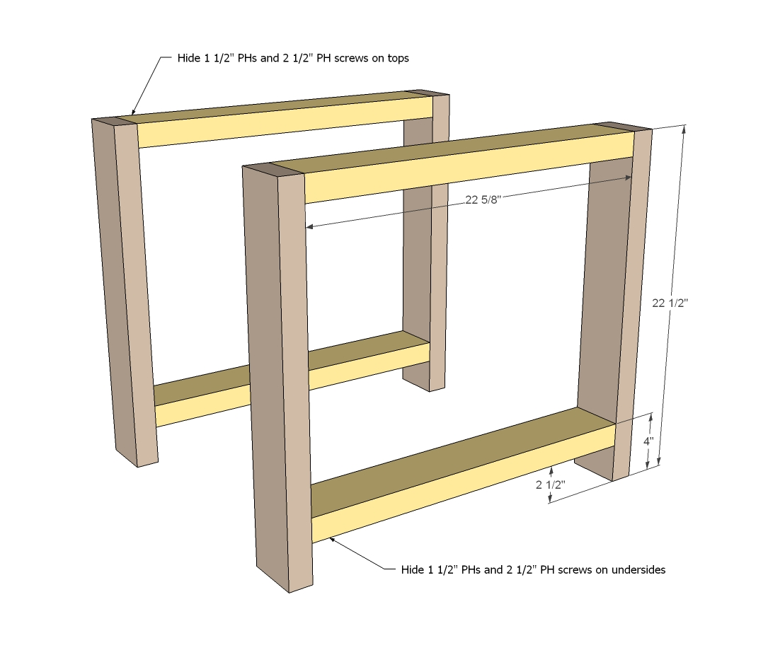 How to build building end table video pdf plans for Side table design
