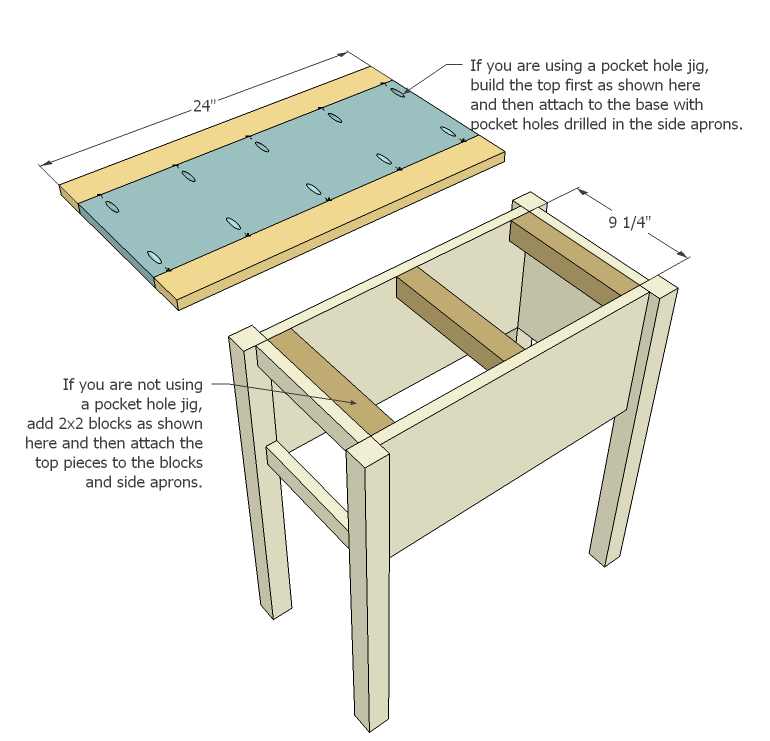 Woodworking Plans For End Tables | DIY Woodworking Projects