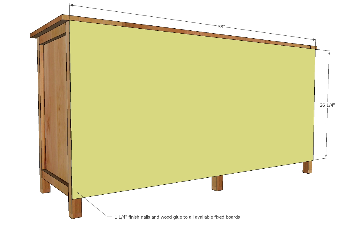 Entertainment Center Console Plans