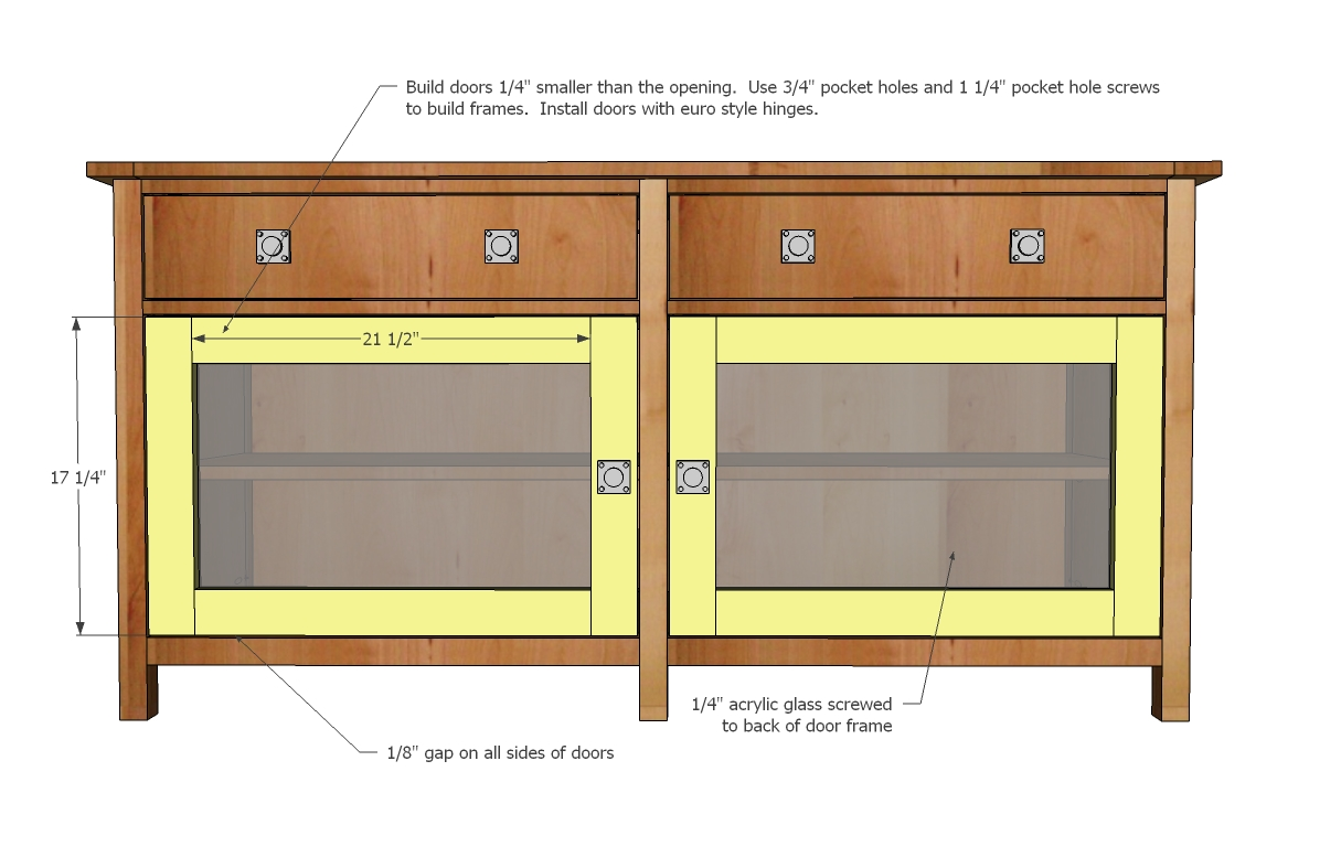 Woodworking plans media console pdf woodworking for Media center plans
