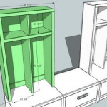 entryway hutch woodworking plans 2