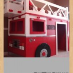 fire truck loft bed woodworking plans