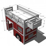fire truck loft bed woodworking plans 2