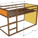 fort loft bed woodworking plans 2