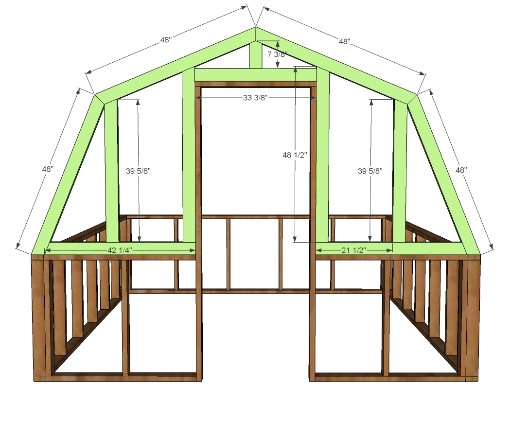 Greenhouse woodworking plans woodshop plans for Free barn blueprints