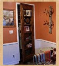hidden doorway bookcase woodworking plans