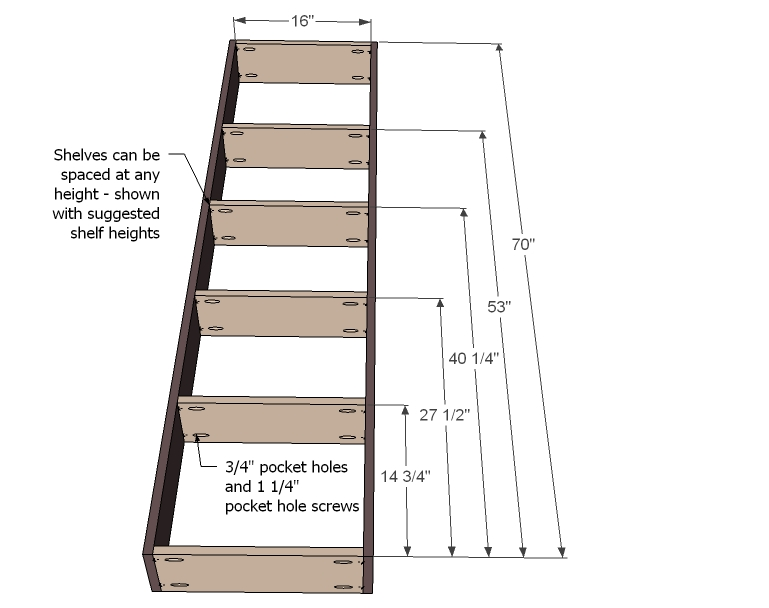 how to build a simple bookshelf