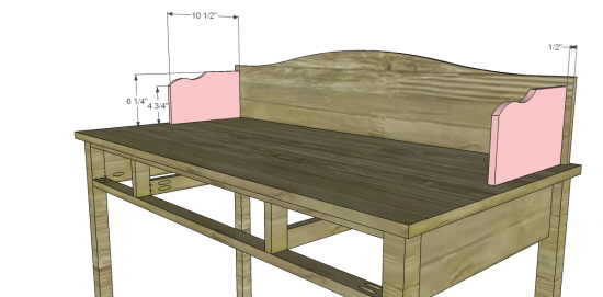 Kids Desk Woodworking Plan 550 x 271