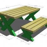 kids picnic table woodworking plans 2
