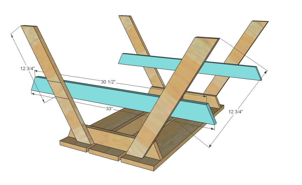 ... Kids Picnic Table Plans Download holly wood bike rack – woodguides