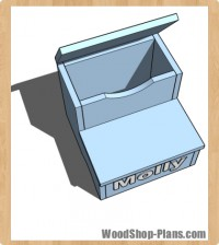 kids storage step stool woodworking plans
