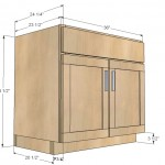 kitchen cabinet sink base woodworking plans 2