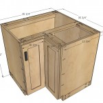 kitchen corner cabinet woodworking plans 2