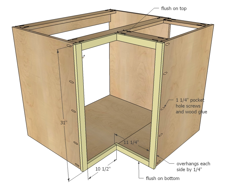 Incredible Build Kitchen Corner Cabinet 770 x 620 · 209 kB · jpeg