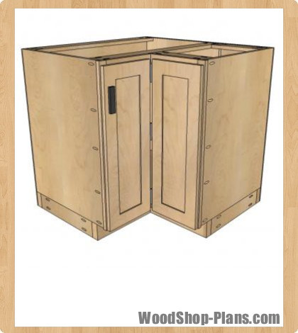 Kitchen Cabinet Woodworking Plans Free