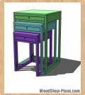 nestling tables woodworking plans