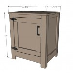 nightstand woodworking plans 2