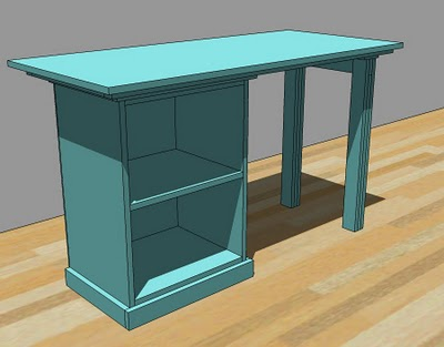 office desk woodworking plans - WoodShop Plans