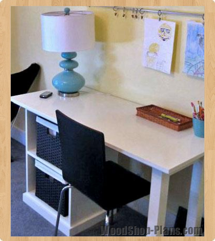 office desk woodworking plans