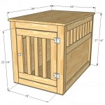 pet kennel woodworking plans 2