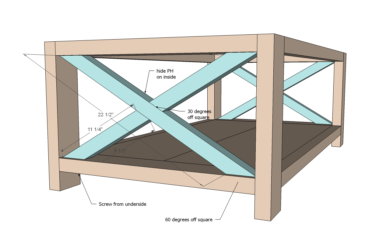 PDF DIY Rustic Coffee Table Plans Woodworking Download ...