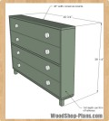 shoe dresser woodworking plans