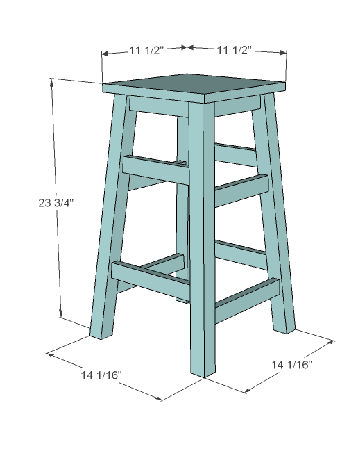 Building Simple Bar Stools