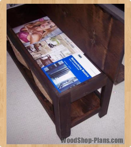 Storage Bench Woodworking Plans   WoodShop Plans. Entryway ...