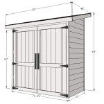storage shed woodworking plans 2