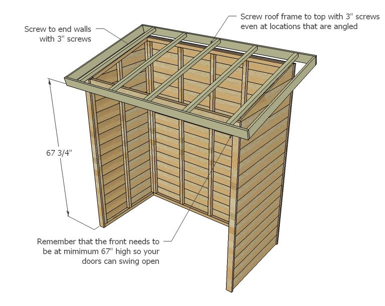 Storage Shed Woodworking Plans Woodshop Plans