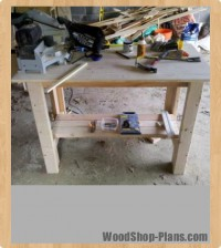 work bench woodworking plans