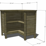 corner bookcase woodworking plans 2