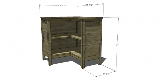 Plans to build corner bookcase plans free pdf plans for Build your own corner bookcase