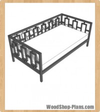 daybed woodworking plans