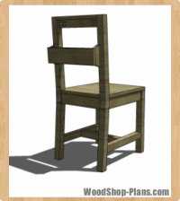 desk chair woodworking plans