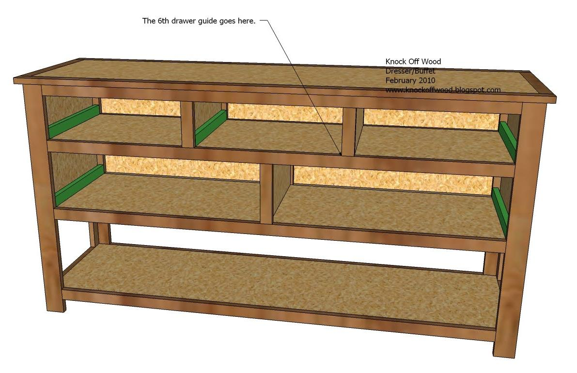 Information wood plans for dresser gurawood for Wood craft shelves